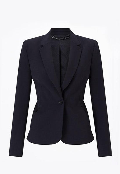 Jigsaw Seam Detail Paris Jacket, Navy