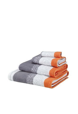 John Lewis Scandi Kaspar Bath Towels, Multi