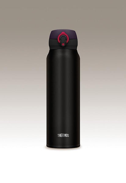 Thermos 0.75L Ultra-Light One-Push Tumbler, Matte Black