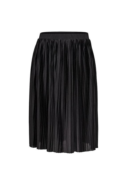 Jacqueline de Yong Pleated Skirt, Black