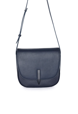 Karen Walker Bonnie Saddle Shoulder Bag, Midnight