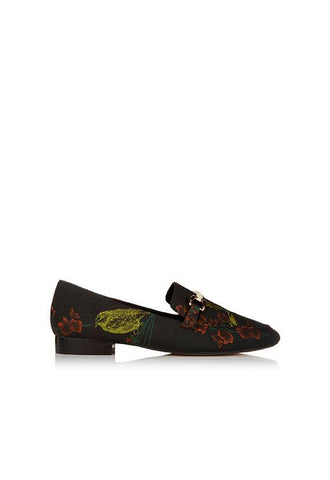 Dune Lolla Brocade Loafer