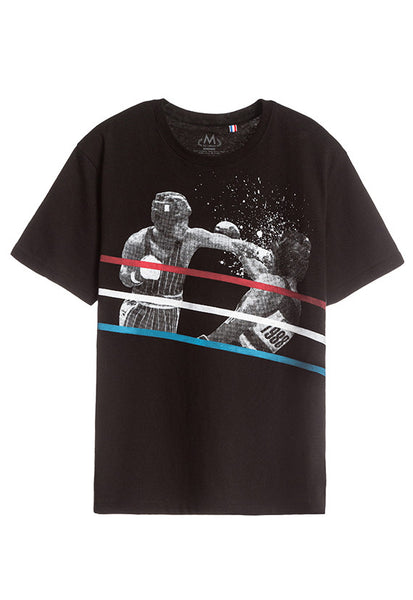 Tee Library Boxing T-Shirt, Black