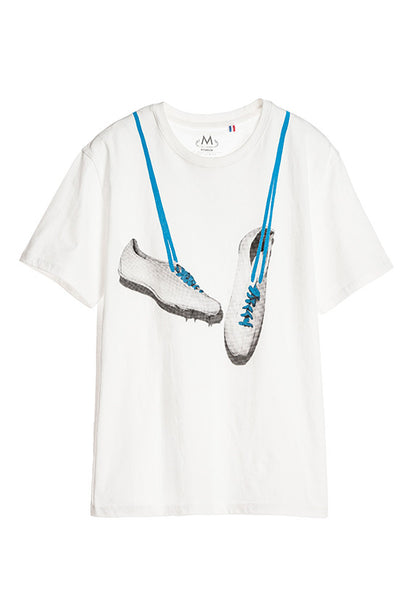 Tee Library Shoes T-Shirt, White
