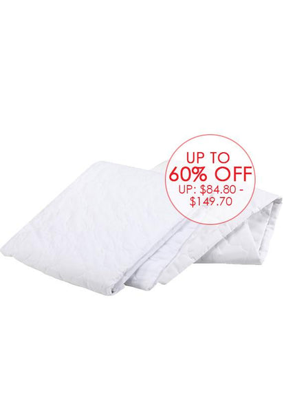 Nature Basics Mattress & Pillow Protector Set, Single