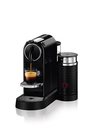 Nespresso CitiZ&milk Coffee Machine, Black