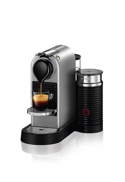 Nespresso CitiZ&milk Coffee Machine, Silver