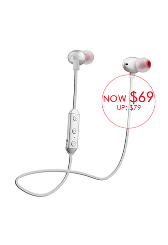 Nakamichi Bluetooth In-ear Earphones SY132, Silver