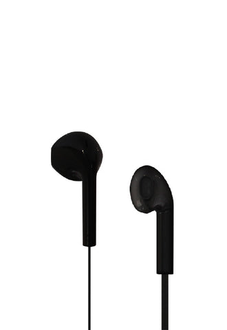 Nakamichi Inear Earphones With Microphone, Black