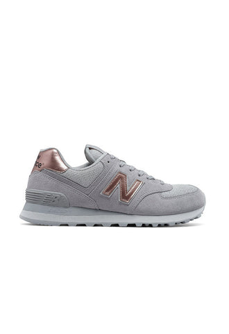 New Balance WL574CHC, Grey/Gold