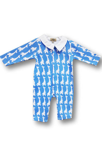 Le Top Newborn Sleepsuit, Blue