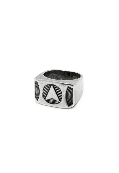 Northskull Silver Kinetic Ring
