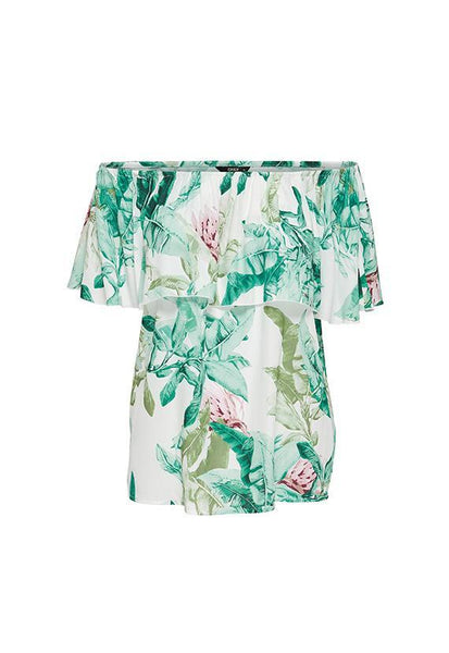 ONLY Botanical Off-Shoulder Top