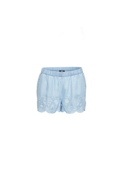 ONLY Denim Embroidery Shorts