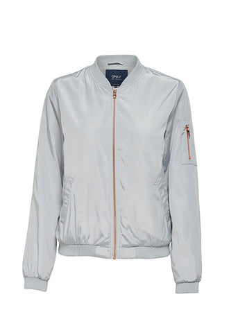 ONLY NOOS Nylon Bomber Jacket, Micro Chip