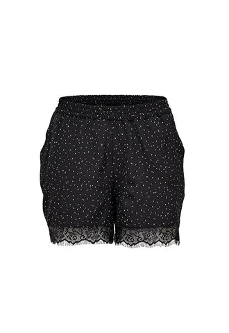 ONLY Nova Lace Shorts, Black