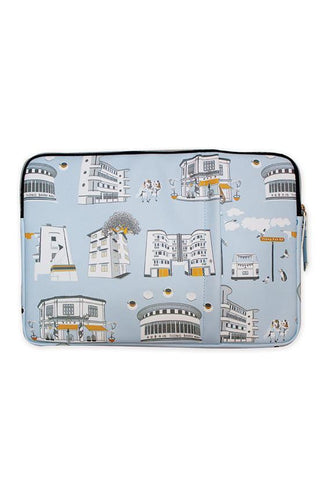 Onlewo Laptop Sleeves, Tiong Bahru Soft Blue