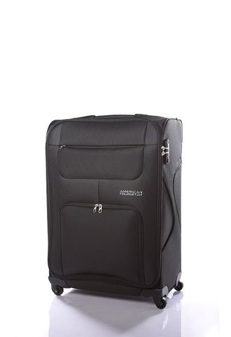 American Tourister MV+ Spinner W/combi, Black