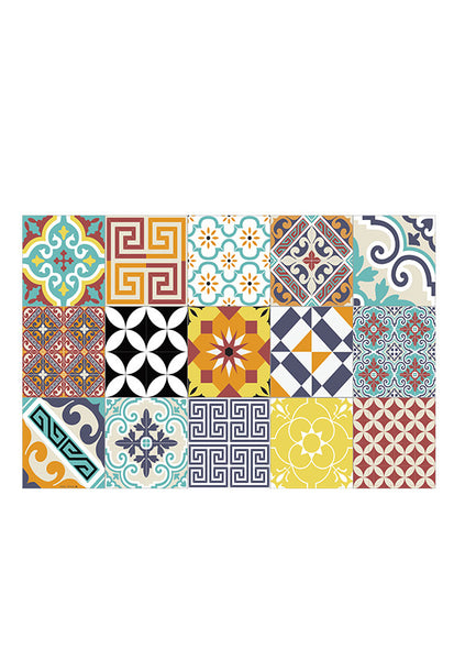 Beija Flor Eclectic Placemat, Multi