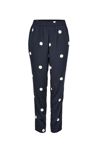 Jacqueline de Yong Long Polka Dot Slim Pants