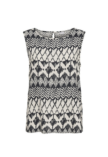 Jacqueline de Yong Epic Sleeveless Top, Aztec Prints