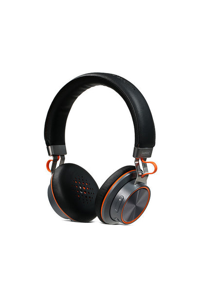 Remax Stereo Multi-points Bluetooth Headphone, Black