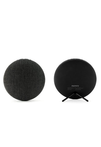 Remax Fabric Portable Bluetooth Speaker, Black