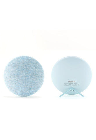 Remax Fabric Portable Bluetooth Speaker, Blue