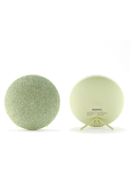 Remax Fabric Portable Bluetooth Speaker, Green