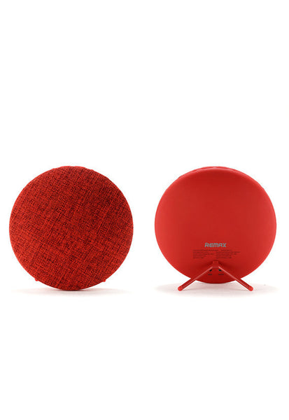 Remax Fabric Portable Bluetooth Speaker, Red