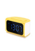 Remax Clock with 4 USB Port Charger, Yellow