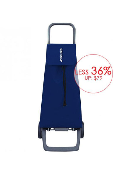 Rolser JET LN Joy Shopping Trolley, Azul, Blue