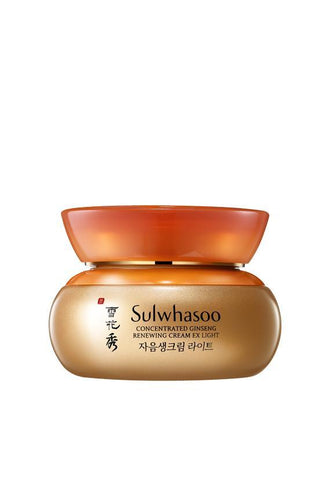 Sulwhasoo Concentrated Ginseng Renewing Cream EX Light, 60ml (Bo Set)