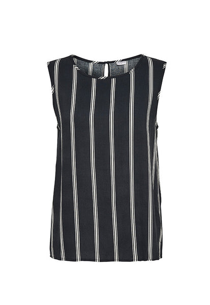 Jacqueline de Yong Epic Sleeveless Top, Stripes