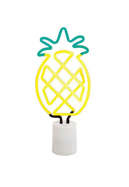 SunnyLife Pineapple Neon Light Large