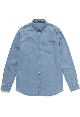 Denham Shirt, Denim Blue