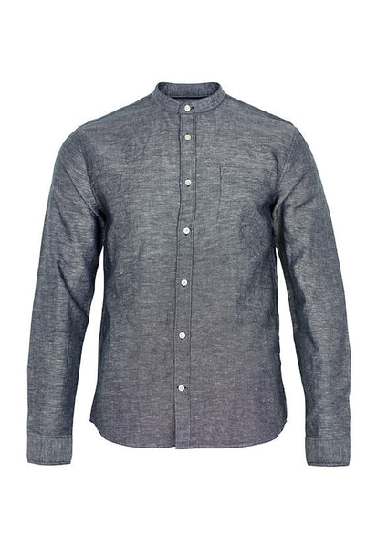 Matinique Trostol Long Sleeve Shirt, Navy