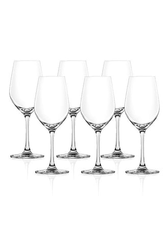 Lucaris Tokyo Temptation 6pc Crystalline Riesling Glass Set
