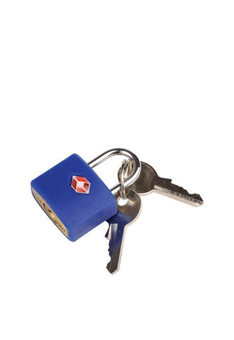 Travel Blue 027 TSA Indeti Lock, Blue