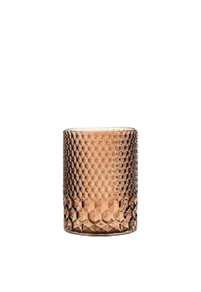 Bloomingville Votive Brown Glass Vase