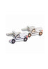 A.Azthom White Mini-van Cufflinks