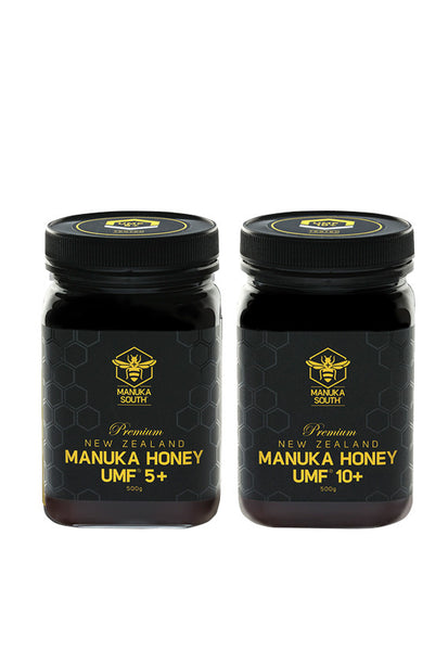 Manuka South® Manuka UMF 5+/10+, 500g Twin Pack
