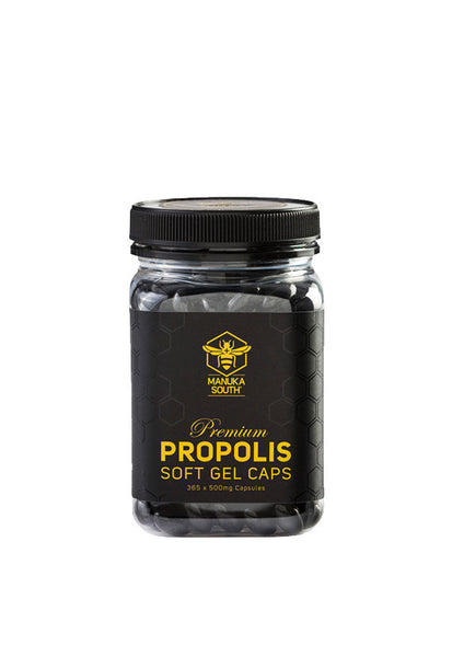 Manuka South® Propolis Soft Gel Caps, 500g