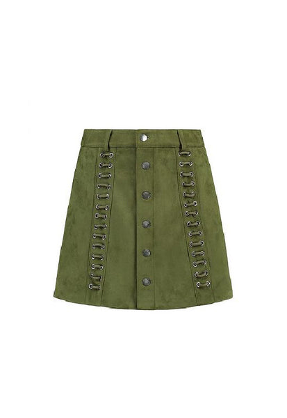 Nikkie Leigh Skirt, <br/>Army Green