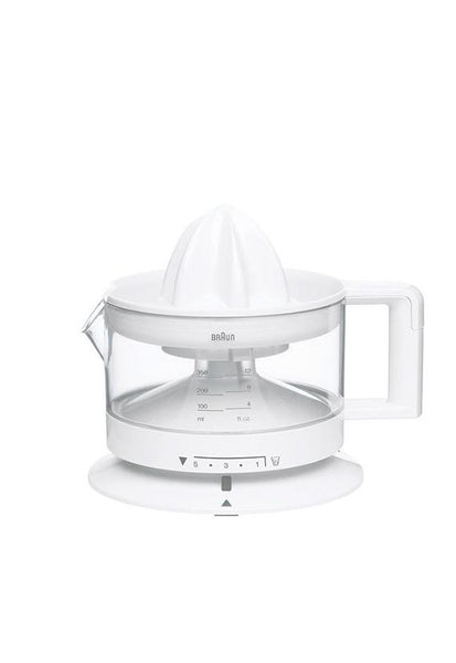 Braun Tribute Collection Citrus Juicer, White