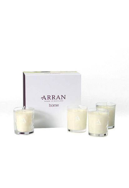 Arran Citrus Wood Scented Candles, Set of 4