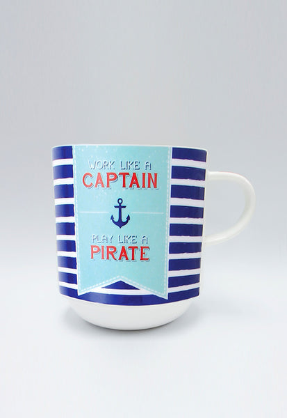 Multiple Choice Mugs, Work Like a Captain
