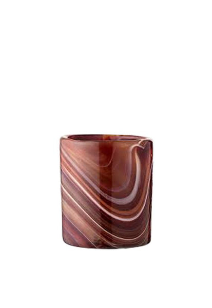 Bloomingville Brown Votive Glass
