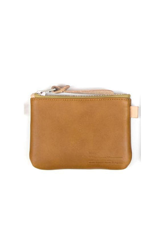 Buddy Fang Leather Wallet Smooth, Camel