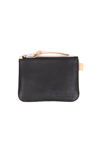 Buddy Fang Leather Wallet Smooth, Black